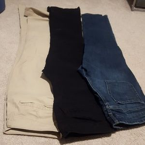 Cotton Khakis and Jeans
